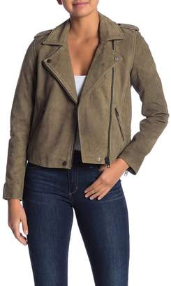 Lucky Brand Helen Moto Leather Jacket
