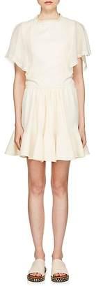 Chloé Women's Cady & Chiffon Minidress