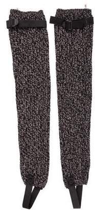 Moncler Knit Wool Stirrup w/ Tags