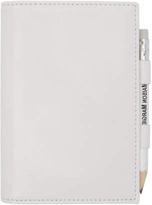 MM6 MAISON MARGIELA White Pencil Card Holder