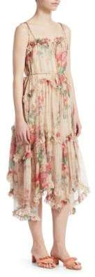 Zimmermann Laelia Floral Midi Dress
