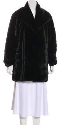 J. Mendel Horizontal Mink Coat