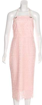 Rebecca Vallance Lace Midi Dress