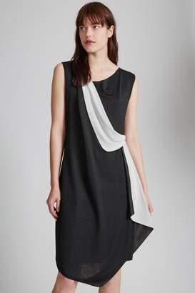 Great Plains Reversible Draped Front Dress
