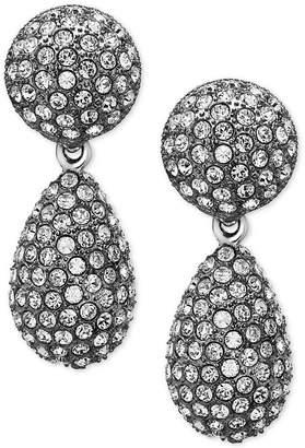 Nina Pave Teardrop Earrings