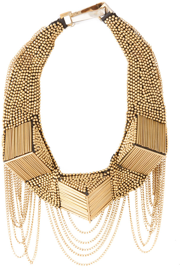 Fiona Paxton Beaded Collar Necklace