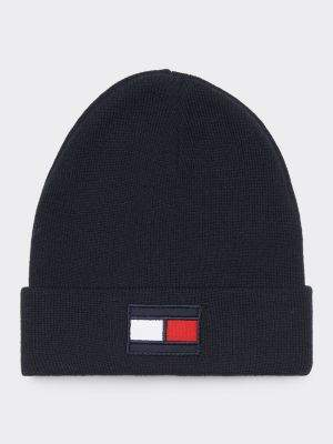 Tommy Hilfiger Kids' Knitted Flag Beanie