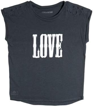 Zadig & Voltaire Love Printed Cotton Jersey T-Shirt