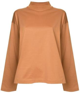 H Beauty&Youth funnel neck T-shirt