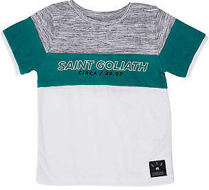 St Goliath New Boys Tots Boys Ocean Tee Short Sleeve Cotton White