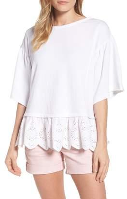 Caslon Twofer Sweatshirt (Regular & Petite)