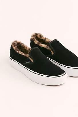 Vans Sherpa Platform Classic Slip-On Sneaker