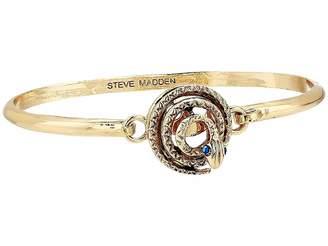 Steve Madden Snake Design Bangle Bracelet