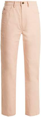 Apiece Apart Highway high-rise straight-leg jeans