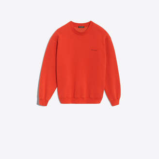Balenciaga logo printed long sleeves sweater