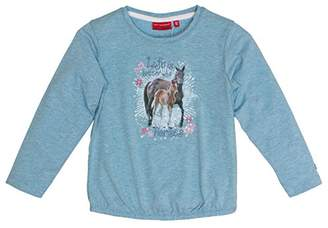 Salt&Pepper Salt & Pepper Girl's Horses UNI Photo Longsleeve T-Shirt