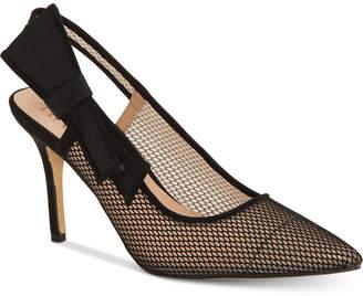 INC International Concepts I.n.c. Women Coletta Slingback Pointed Toe Pumps, Women Shoes