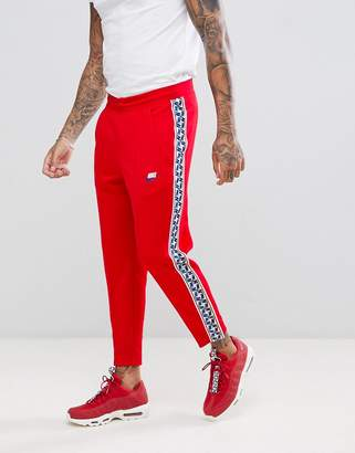 Nike Joggers With Taped Side Stripe In Red AJ2297-657