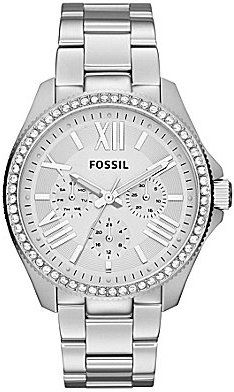 Fossil Cecile Silver Multifunction Watch