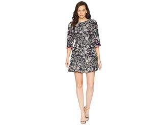 Laundry by Shelli Segal Floral Print Fit and Flare Dress