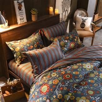 Kadell Winter Autumn Duvet Covers Warm Bedding Sets Duvet Quilt Covers Pillow Case Linen Bedclothes Sheet Bedspread Comforter Bed