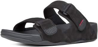 FitFlop Gogh Men's Moc Adjustable Nubuck Slide Sandals