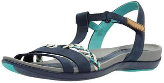 ae11cf22adf6 Clarks Tealite Grace Flat Sandal Shoes - Navy