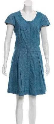Rag & Bone Cap-Sleeve A-Line Dress