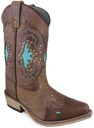 SMOKY MOUNTAIN Smoky Mountain Kid's Moon Bay Distress Leather Cowboy Boot