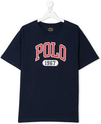 Ralph Lauren TEEN logo print T-shirt