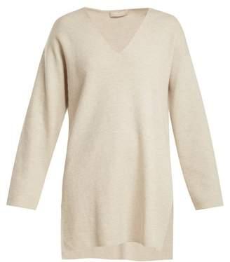 Max Mara S Lucano Sweater - Womens - Light Grey