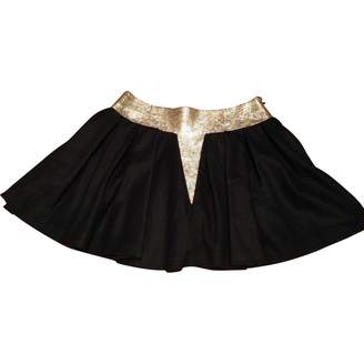 Maxime Simoens Black Wool Skirt for Women