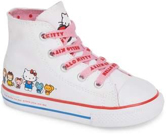 Converse Chuck Taylor(R) All Star(R) Hello Kitty(R) High Top Sneaker