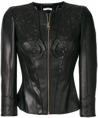 Versace embossed jacket