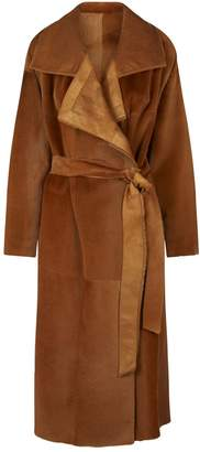 Akris Tropical Kangaroo Fur Coat