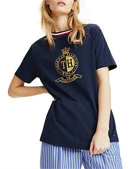 Tommy Hilfiger Cherise C-Nk Tee Ss