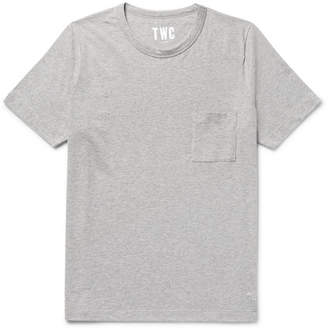 The Workers Club Mélange Cotton-Jersey T-Shirt