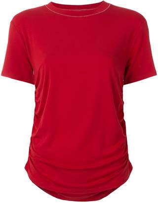 Carven ruched side T-shirt