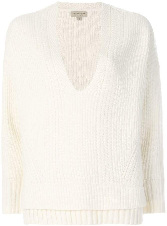 Burberry textured-knit sweater