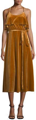 Allison Collection Ruffle Slip Dress
