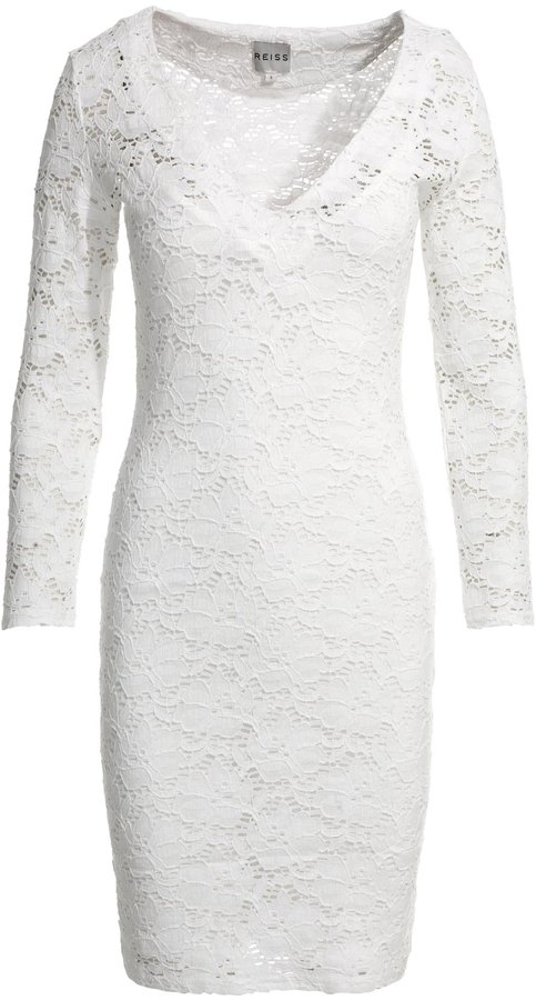 Kimmy LACE JERSEY DRESS