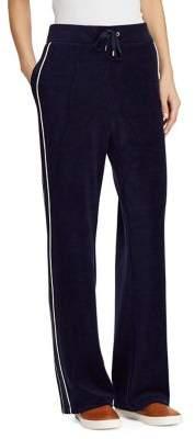Lauren Ralph Lauren Petite Drawstring Velour Pants