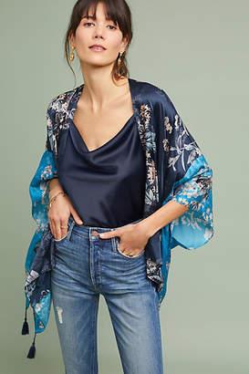 Anthropologie Angela Floral Kimono