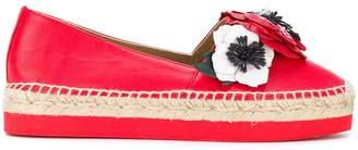 Sonia Rykiel floral appliqué espadrilles