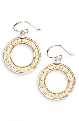 Women's Anna Beck Open Circle Drop Earrings (Nordstrom Exclusive) $180 thestylecure.com