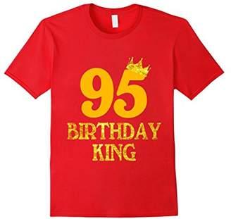 95th Birthday King T-Shirt 95 Years Old 95th Birthday Gift