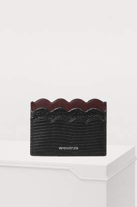 Vanessa Bruno Leather card holder
