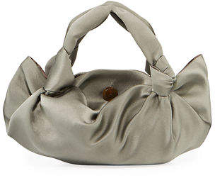 The Row Ascot Two Satin Top-Handle Bag
