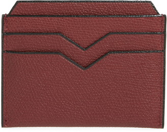 82e66ee7063 Valextra Leather Card Case