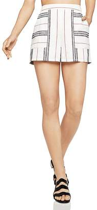BCBGeneration Patch Pocket Striped Shorts